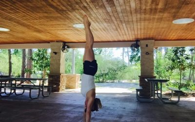 How Standing on My Hands Taught Me To Live More Wisely on My Feet