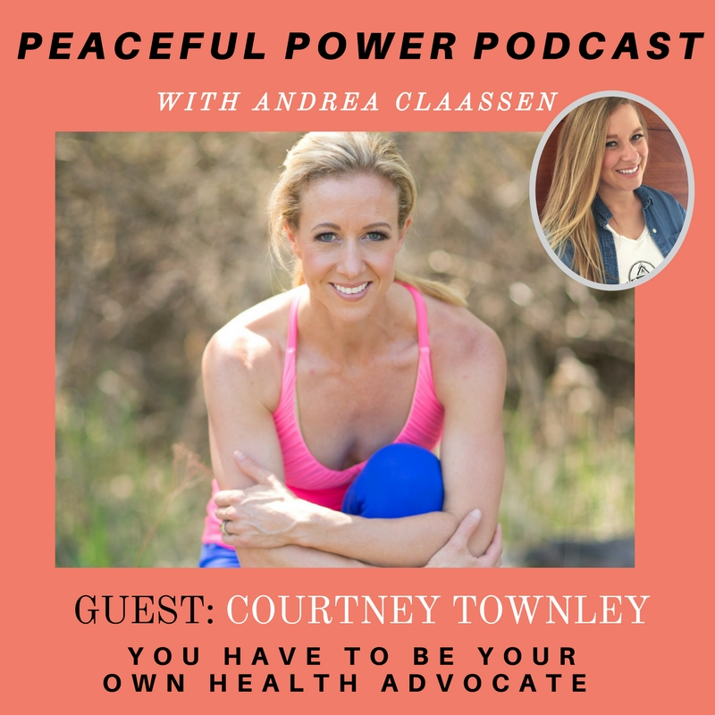 Peaceful Power Podcast Interview w/ Andrea Claassen