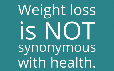 Getting Real About Weight Loss