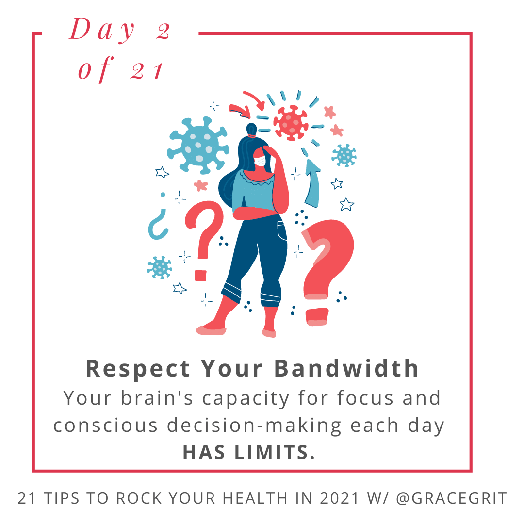 Respect Your Bandwidth