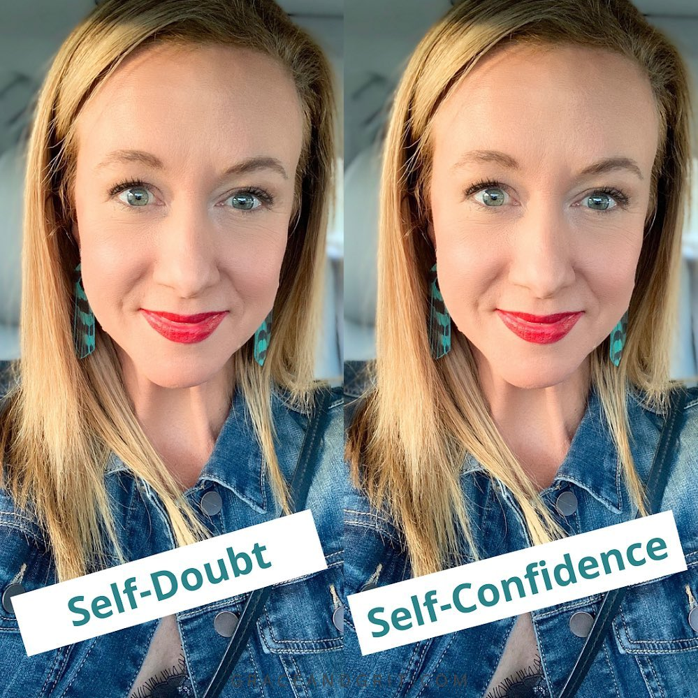 My truth in any given moment is self-doubt AND self-confidence.