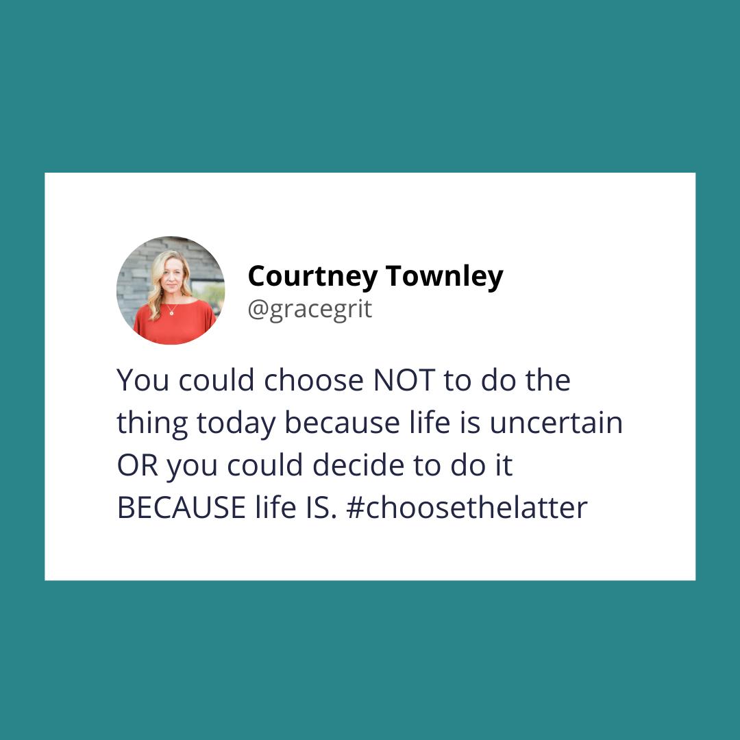Love is always a choice.