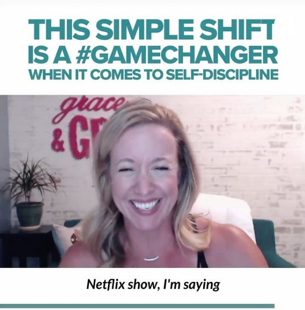 This simple shift is a #GAMECHANGER.