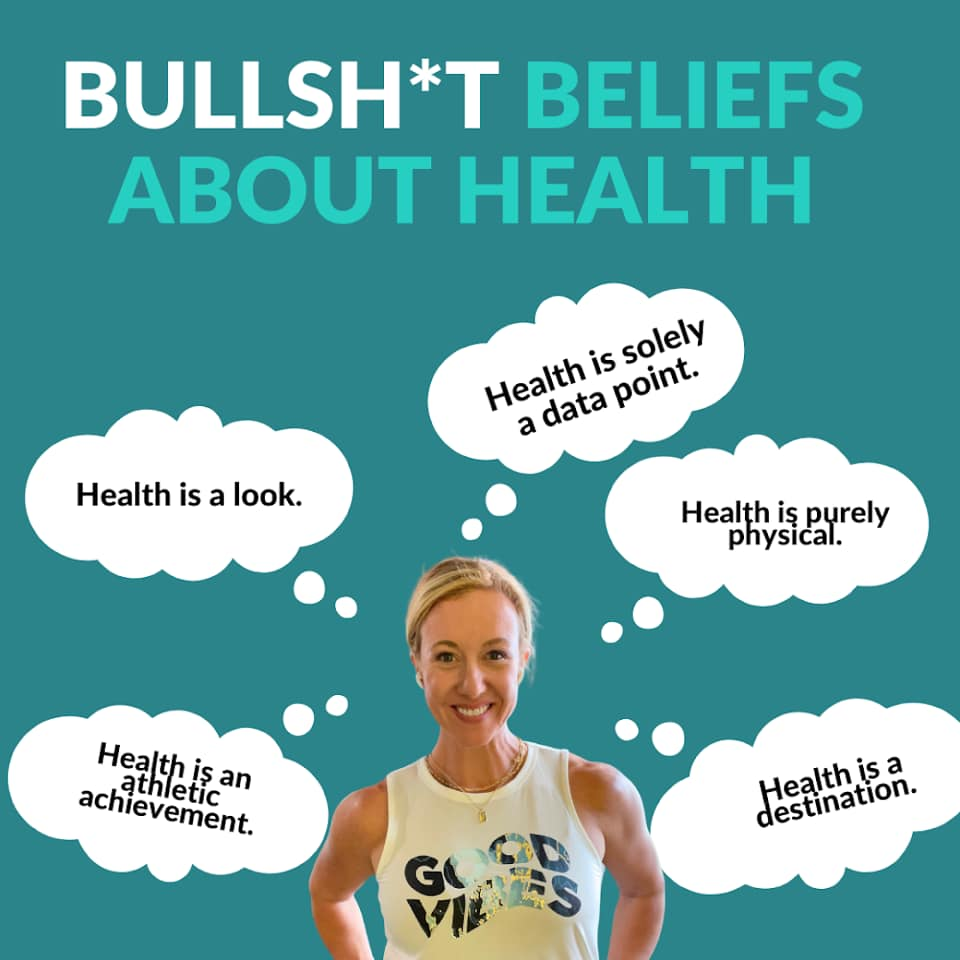 What other BS beliefs have you heard about health?